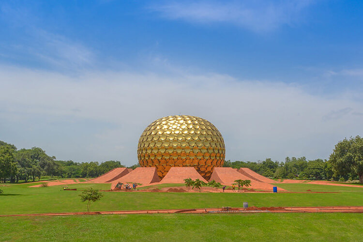 Matrimandir with 1 Day Chennai to Mahabalipuram & Pondicherry Trip by Car