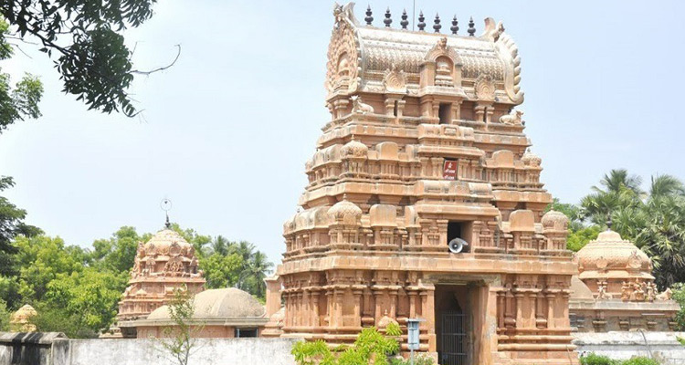 1 Day Chennai to Thirunallar Tour by Cab Sri Parvatheeswara Temple