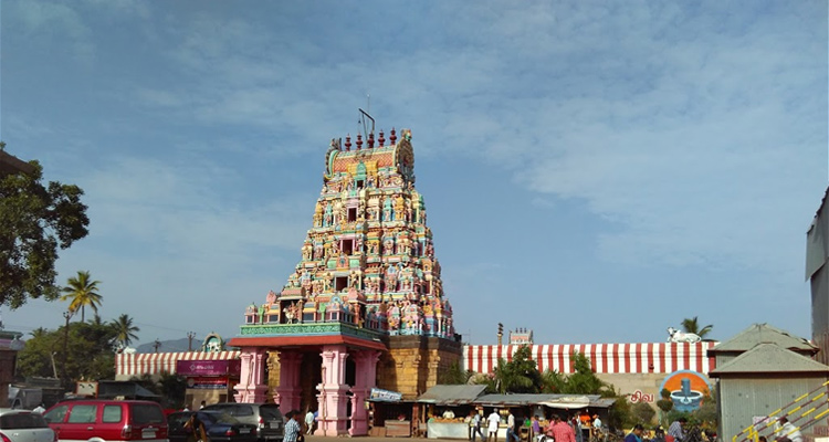 1 Day Coimbatore Temple Tour by Cab Patteeswarar Swamy Temple