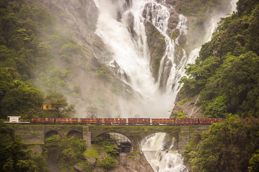 1 Day Goa to Dudhsagar Waterfalls Trip by Car