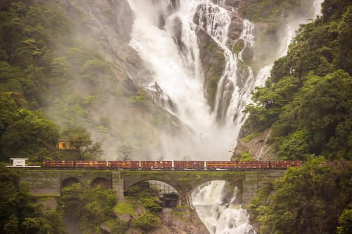 1 Day Goa to Dudhsagar Waterfalls Trip by Car