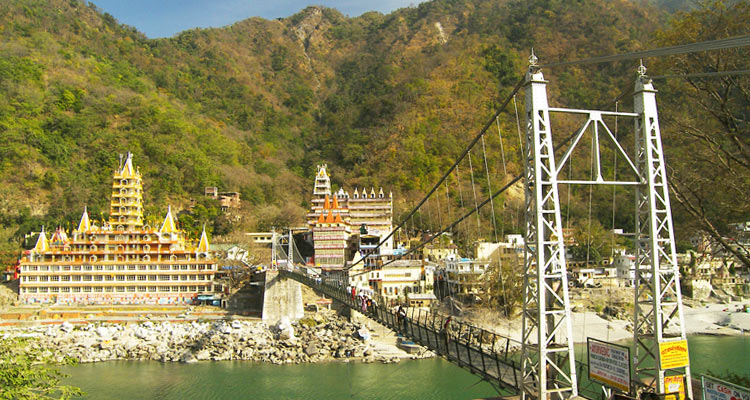1 Day Haridwar & Rishikesh Local Sightseeing Tour by Cab Laxman Jhula