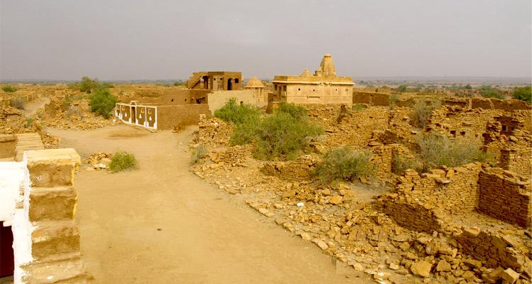 1 Day Jaisalmer Local Sightseeing Tour by Cab Kuldhara Village