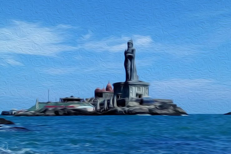 Thiruvalluvar Statue with Kanyakumari Sightseeing Trip