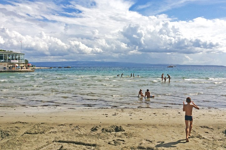Bacvice Beach Split Croatia