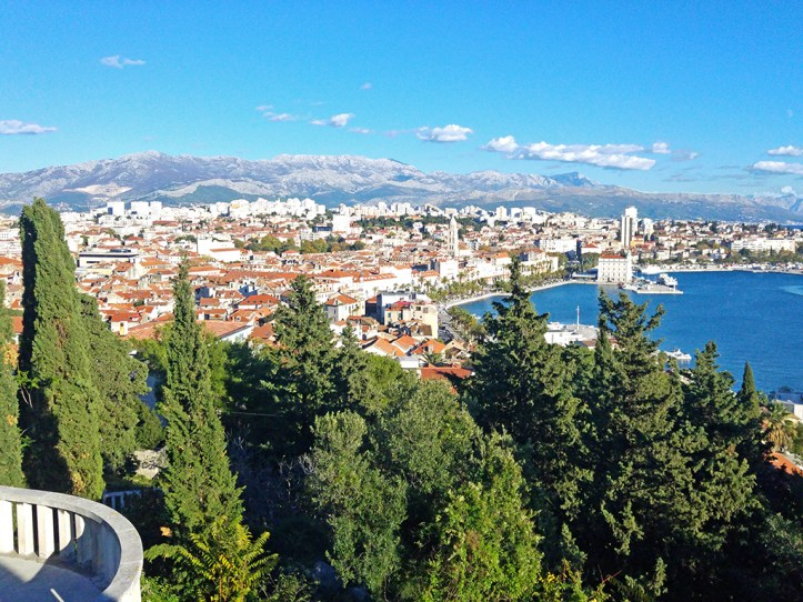 Split Croatia Panoramic View