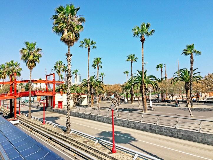 Barcelona Waterfront Promenade