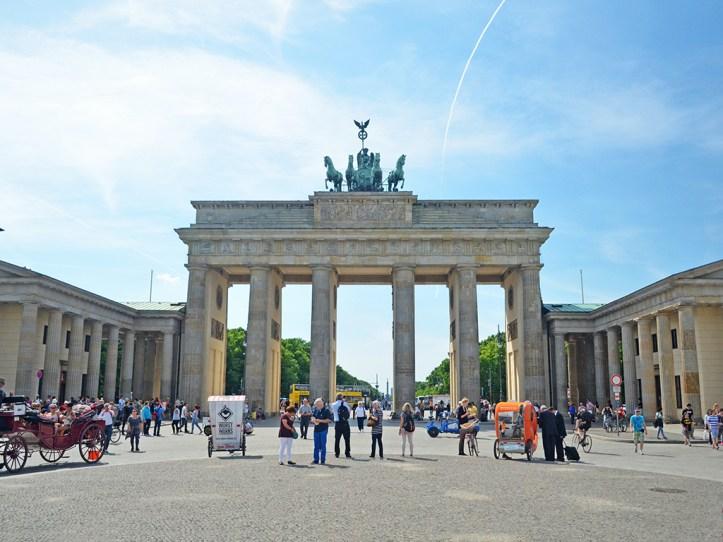 Brandeburg Gate Berlin Itinerary