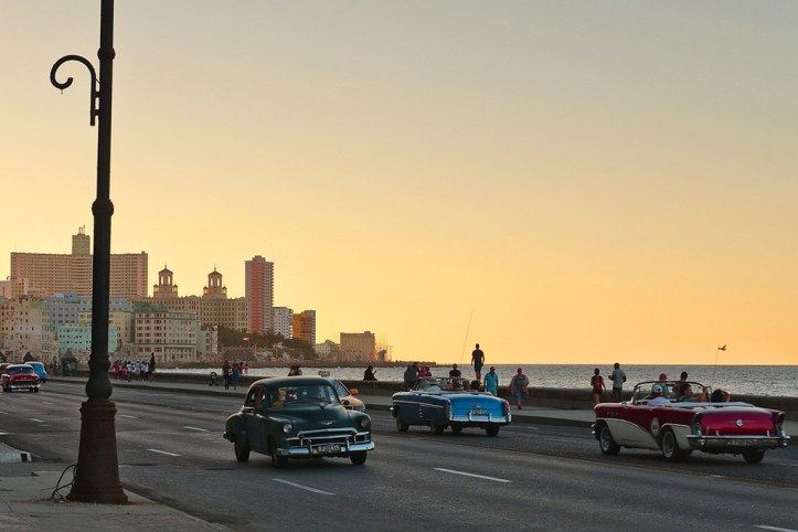 Havana Malecon Sunset