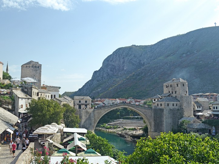 Historical Center in Mostar