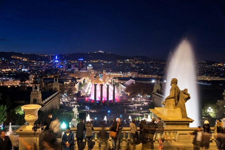 Magic Fountain Show Barcelona