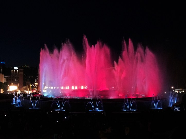 Magic Fountain Show Barcelona