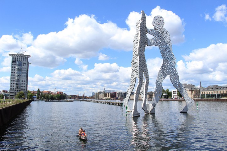 Molecule Man on River Spree