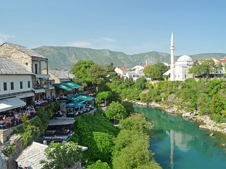 Neretva river Mostar