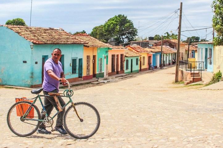 Renting a bike in Trinidad