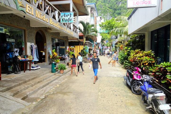 Streets of El Nido
