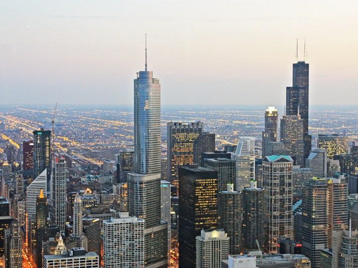 Signature Lounge Hanckok Tower Chicago