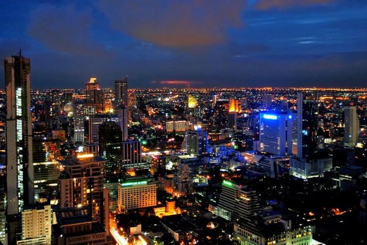 View from Moon Bar Bangkok