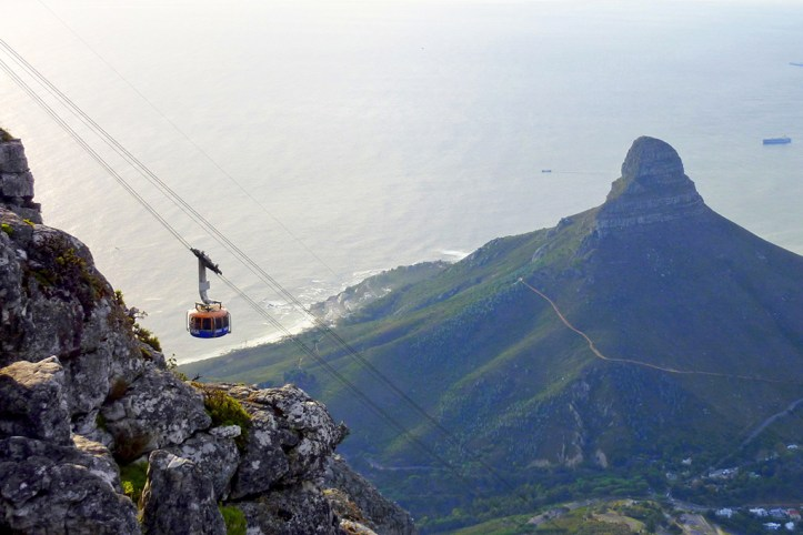 Cable Car Ride to Table Mountains