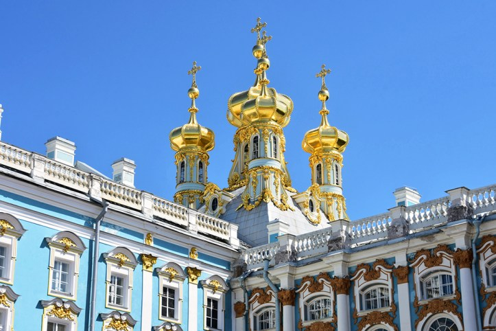 Catherine Palace Detail