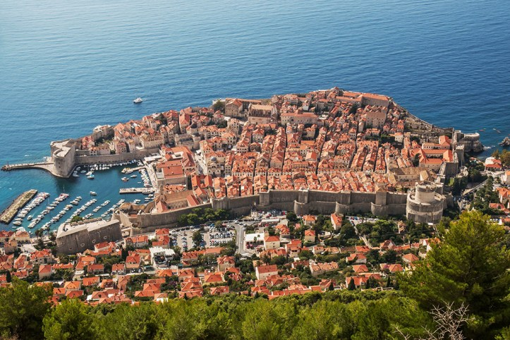 Dubrovnik Cable Car View