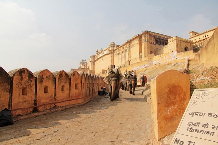 Amer Fort Entrance, Jaipur