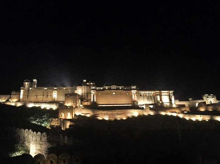 Amer Fort Light Show