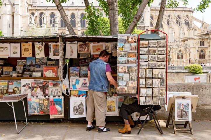 Area around Notre Dame, Paris