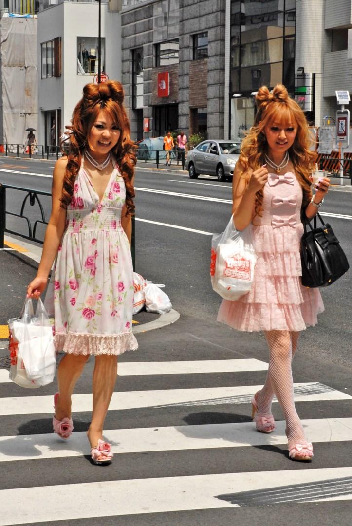 Harajuku Girls in Tokyo