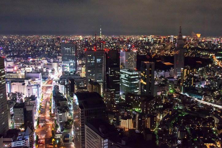 Tokyo from Park Hyatt