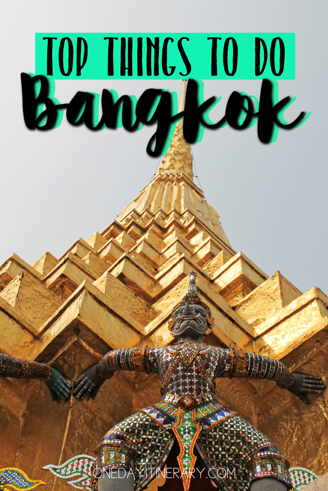 Bangkok Thailand Top things to do