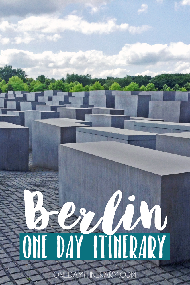 Berlin Germany One day itinerary