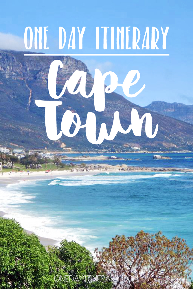 Cape Town South Africa One day itinerary