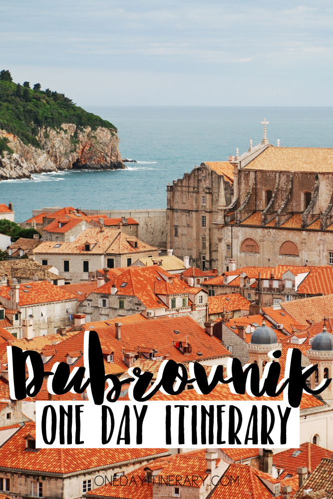 Dubrovnik Croatia One day itinerary