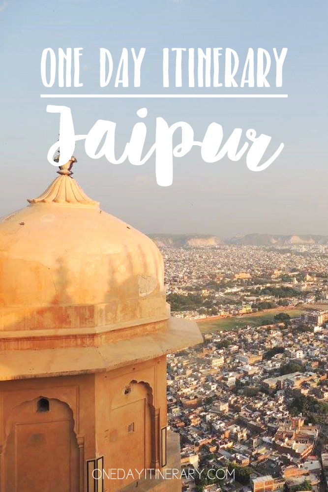 Jaipur India One day itinerary