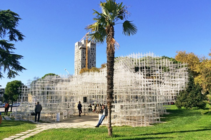 The Cloud Pavilion, Tirana