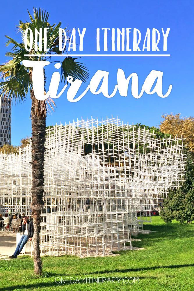 Tirana Albania One day itinerary
