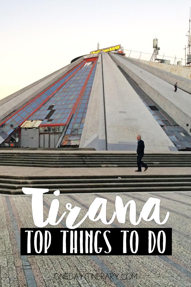 Tirana Albania Top things to do