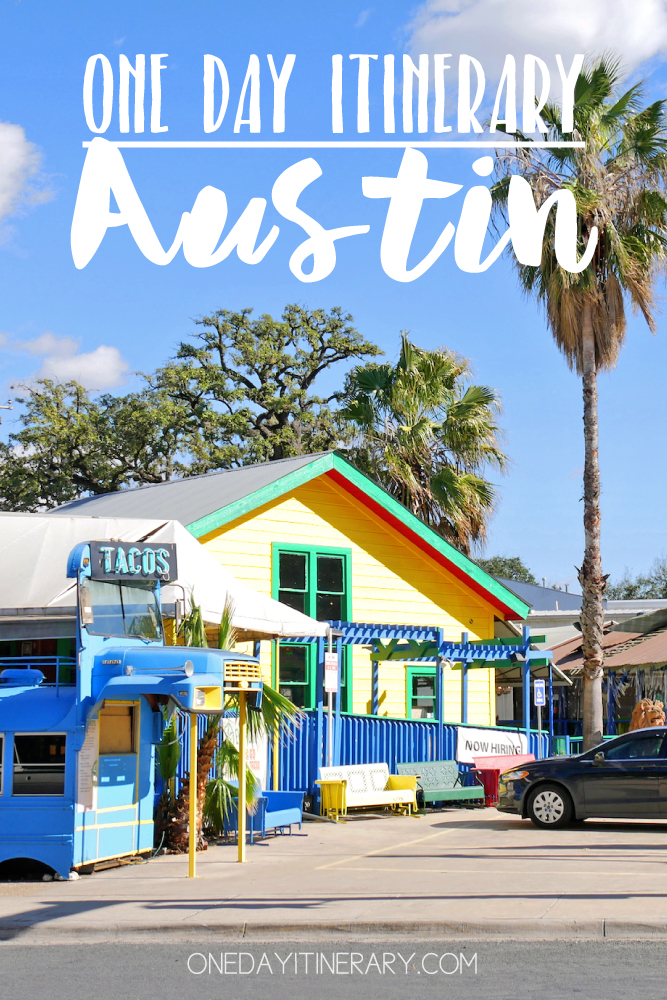 Austin Texas One day itinerary