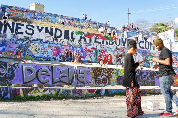 Graffiti Park, Austin