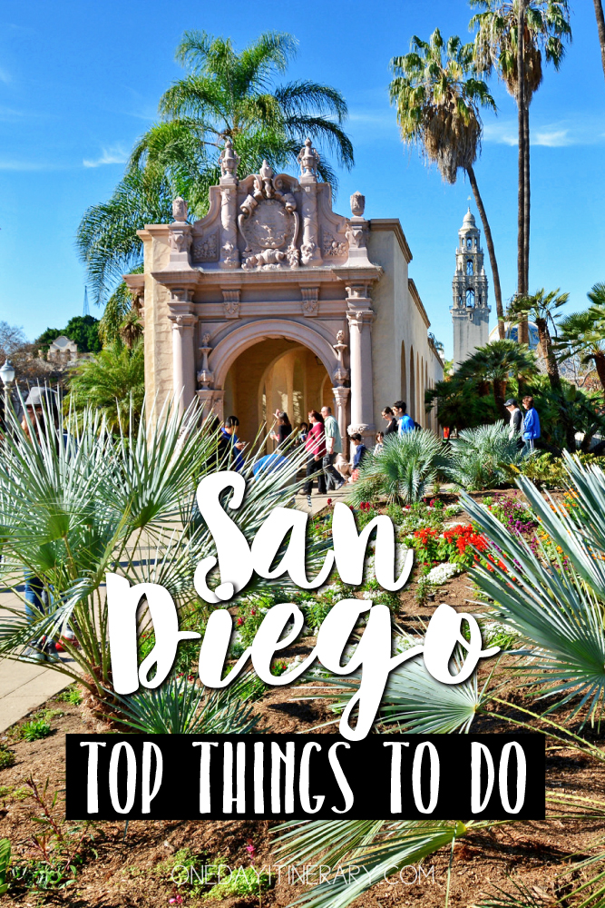 San Diego California Top things to do