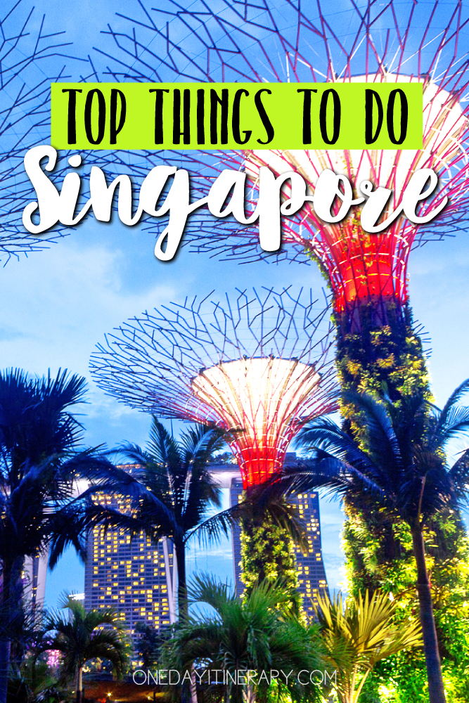 Singapore Top things to do