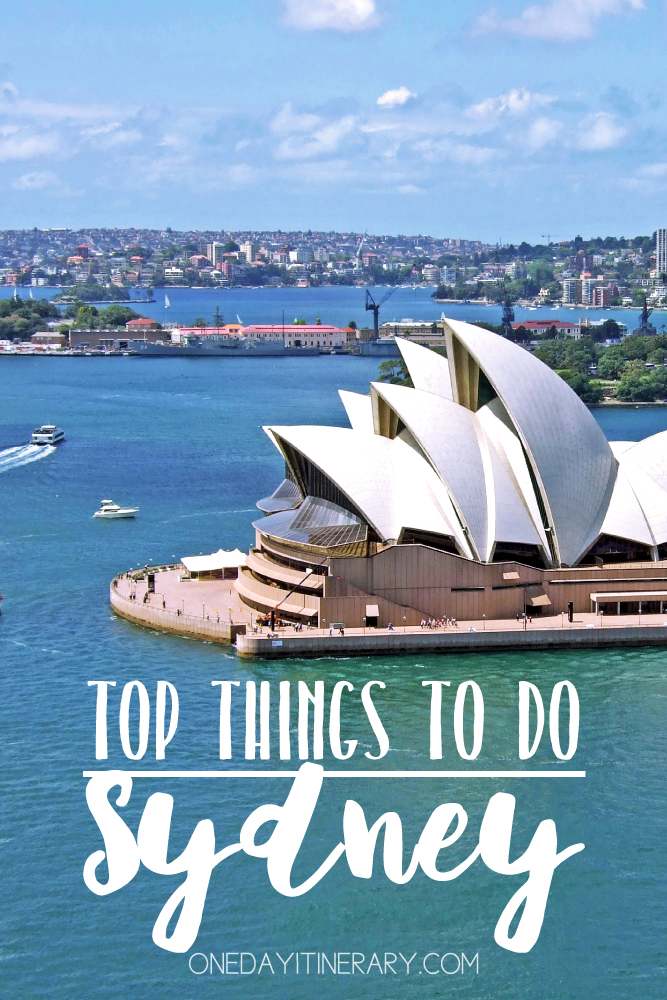 Sydney Australia Top things to do