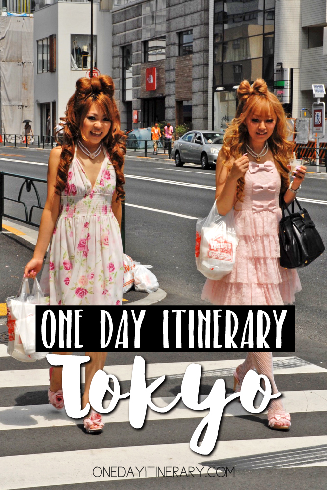 Tokyo Japan One day itinerary