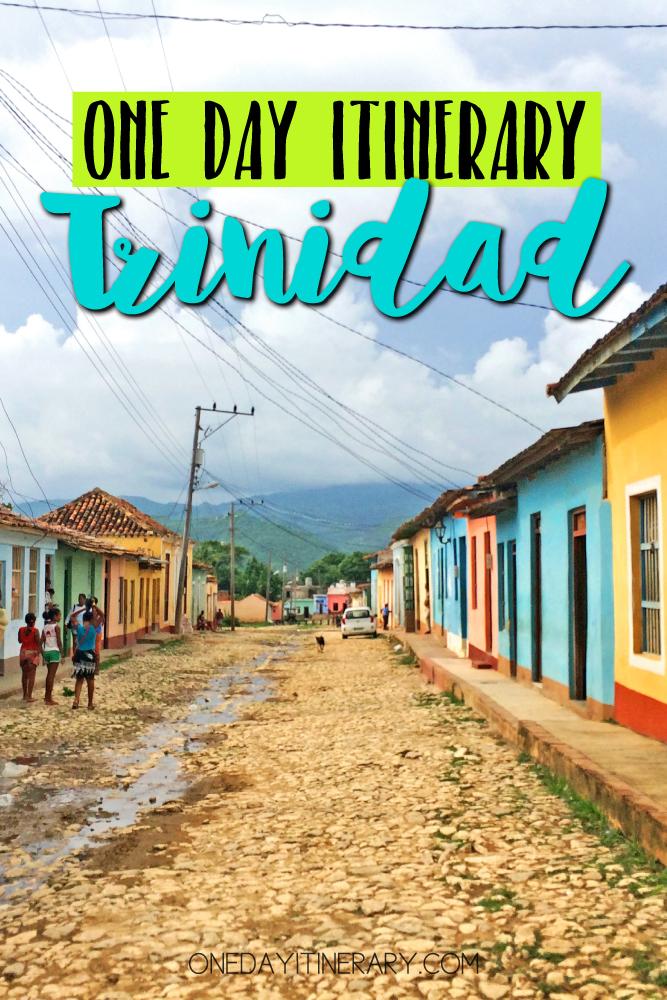 Trinidad Cuba One day itinerary