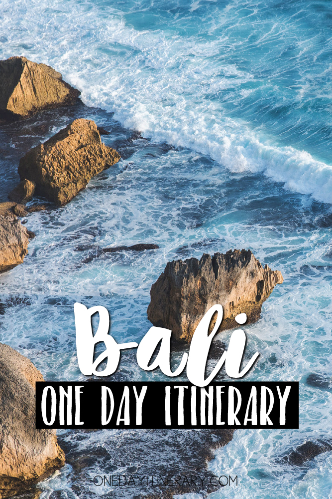 Bali Indonesia One day itinerary