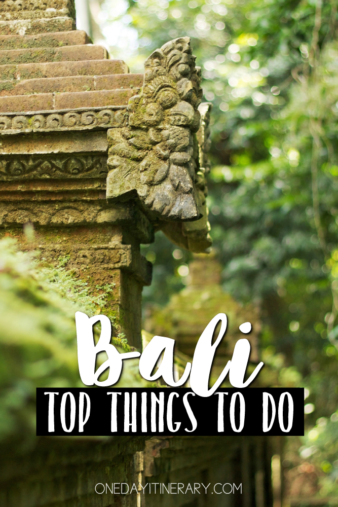 Bali Indonesia Top things to do