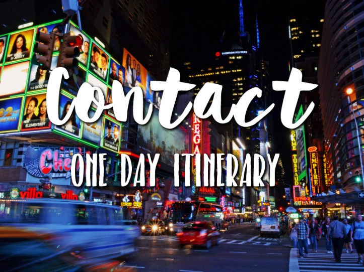 Contact One day itinerary