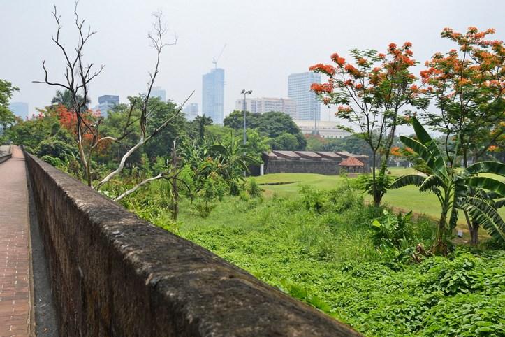 Intramuros Walls, Manila