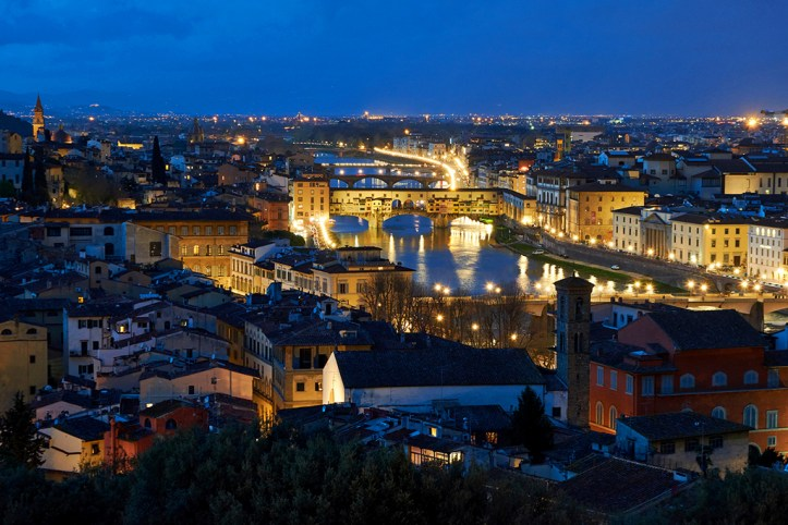 Piazzale Michelangelo View, Florence